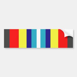 USCG Sea Service Ribbon Bumper Sticker