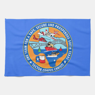 USCG Station Corpus Christi Texas Kitchen Towels