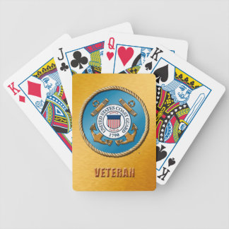 USCG Vet Bicycle® Poker Playing Cards