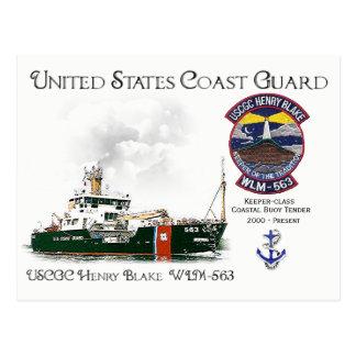USCGC Henry Blake WLM-563 Coastal Buoy Tender Postcard
