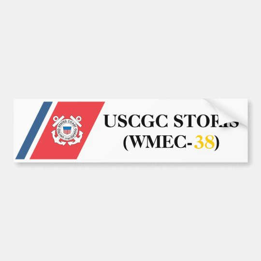 USCGC STORIS (WMEC-38) bumper sticker