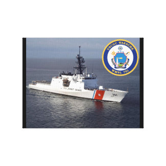 USCGC Waesche (WMSL-751) Canvas Print