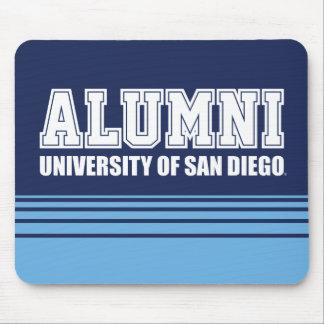 USD | Alumni - Stripes Mouse Pad