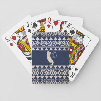 USD | California Tribal Pattern Playing Cards