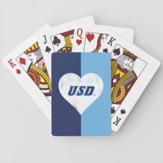USD Vintage Heart Playing Cards