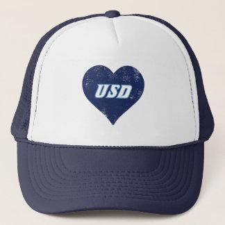USD Vintage Heart Trucker Hat
