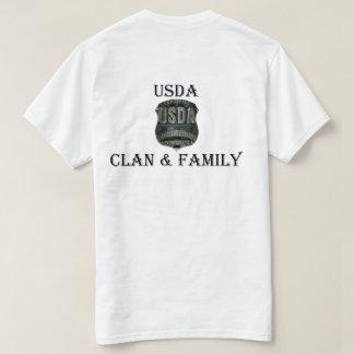USDA Clan & Family T-Shirt