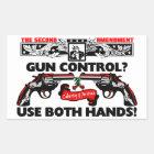 Use Both Hands! Sticker