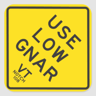"""Use Low Gnar"" Sticker"