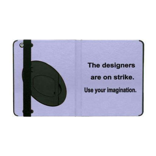 Use Your Imagination Design - Blue background iPad Case