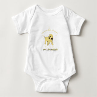 Use Your Noodle, Love a Goldendoodle Baby Bodysuit