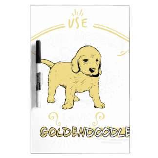 Use Your Noodle, Love a Goldendoodle Dry-Erase Whiteboards