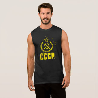 Used Communist CCCP Flag Men's Shirt