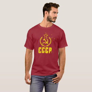 Used Communist CCCP Flag Men's Shirt