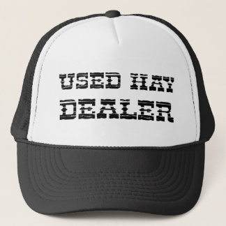 Used Hay Dealer Trucker Hat