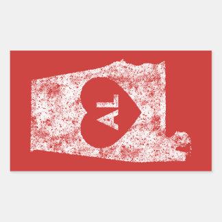 Used I Love Alabama State Stickers