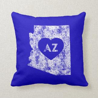 Used I Love Arizona State Throw Pillow