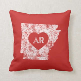 Used I Love Arkansas State Pillow