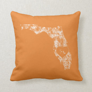 Used I Love Florida State Throw Pillow