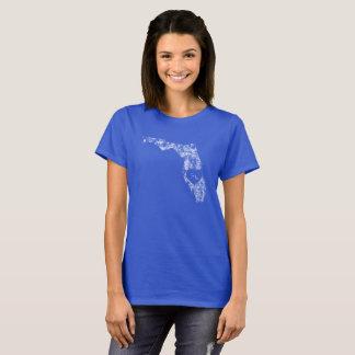 Used I Love Florida State Women's Basic T-Shirt