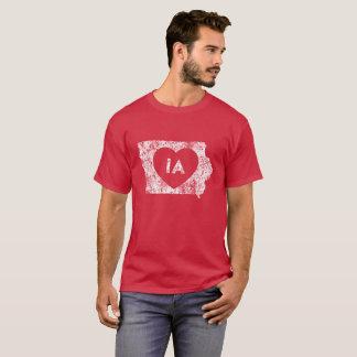 Used I Love Iowa StateMen's Basic Dark T-Shirt