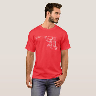Used I Love Maryland State Men's Dark T-Shirt