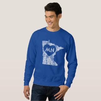 Used I Love Minnesota State Men's Sweatshirt