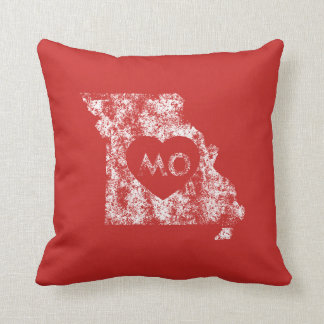 Used I Love Missouri State Pillow