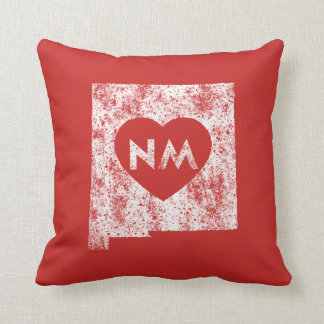 Used I Love New Mexico State Throw Pillow