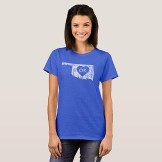 Used I Love Oklahoma State Women's Basic T-Shirt
