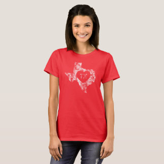 Used I Love Texas State Women's T-Shirt