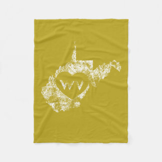 Used I Love West Virginia State Blankets