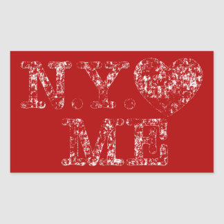 Used N.Y. Love Me Sticker