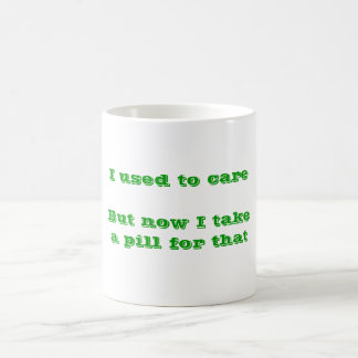 Used to Care Mug