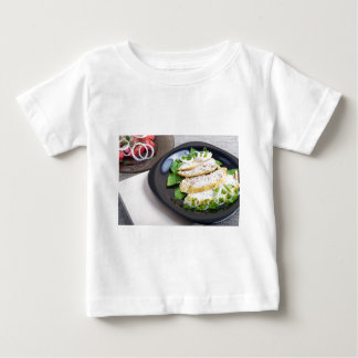 Useful and tasty homemade dinner of baked chicken baby T-Shirt