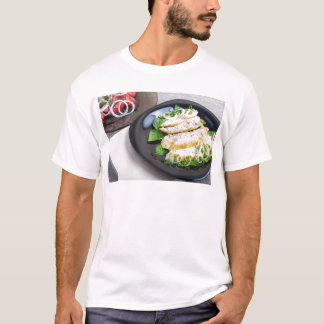 Useful and tasty homemade dinner of baked chicken T-Shirt