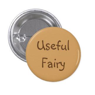 Useful Fairy 1 Inch Round Button