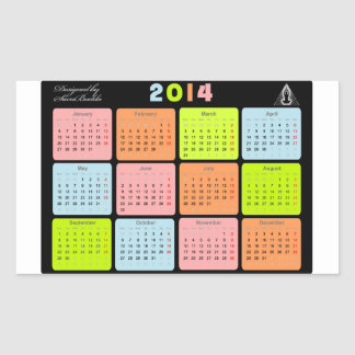 Useful gift with calendar for 2014