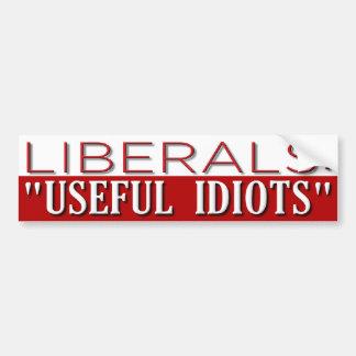 Useful Idiots Bumper Sticker