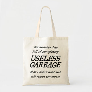 Useless Garbage Tote Bag
