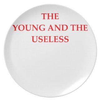 USELESS PLATE