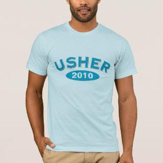 Usher Blue Arc 2010 T-Shirt