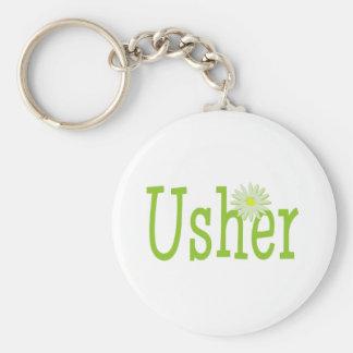 Usher/ Daisy theme Keychain