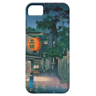 Ushigome Kagurazaka district Tsuchiya Koitsu iPhone 5 Cases