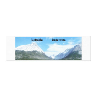 Ushuaia countryside (BASIC design) Canvas Print