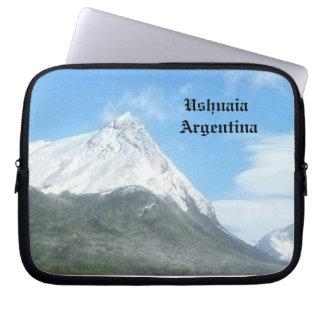 Ushuaia countryside (BASIC design) Laptop Sleeve