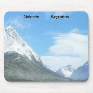 Ushuaia countryside (BASIC design) Mouse Pad