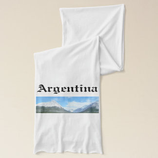 Ushuaia countryside (BASIC design) Scarf