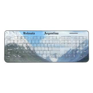 Ushuaia countryside (BASIC design) Wireless Keyboard