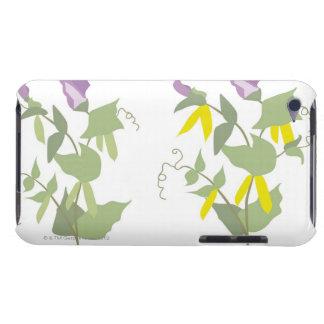 Usines de pois fleurissantes coque iPod touch